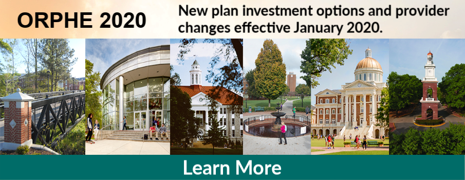 ORPHE 2020: New plan investment options and provider changes effective January 2020.